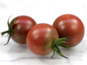 Black Cherry: All the flavor of a black tomato, in a two-bite package.